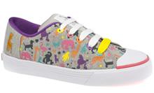 Babycham poodle print shoes