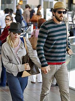 Scarlett and husband Ryan