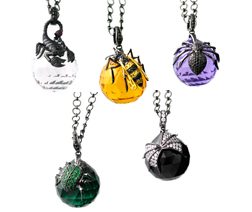 Bug Ball Pendants