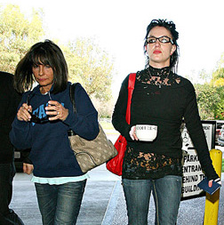 Britney and Lynne Spears