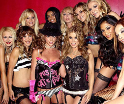 Britney with The Pussycat Dolls