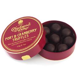 Port & Cranberry Truffles by Charbonnel et Walker