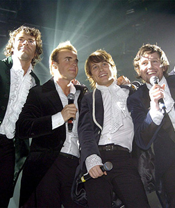 Take That on tour