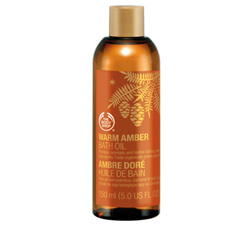 Warm Amber Bath Oil