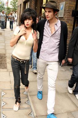 Amy Winehouse with Blake