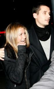 Jennifer Aniston and John
