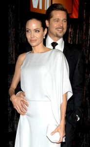 Brad and Angelina steal the show