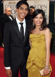 Slumdog Millionaire Dev Patel and Freida Pinto