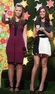 Kimberley and Cheryl