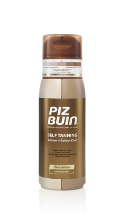 Piz Buin Colour + Dial Self Tanning Lotion
