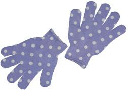 Purple Exfoliating Gloves