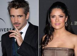 Colin Farrell and Salma Hayek