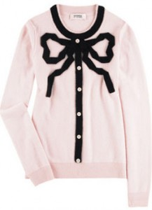 Sonia by Sonia Rykiel Bow Sweater