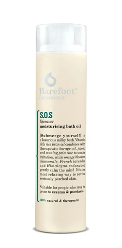 Barefoot Botanical SOS Bath Oil
