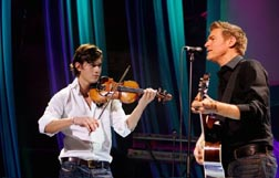 Bryan Adams and Charlie Siem Getty Images