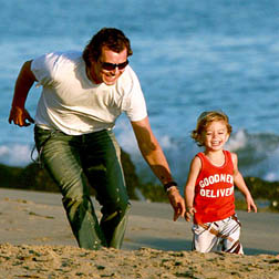 Gavin Rossdale & Kingston
