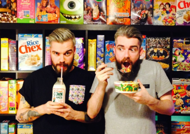 THE UK'S FIRST CEREAL CAFE