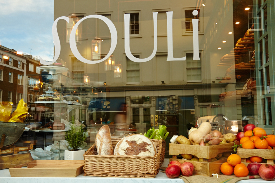 NOT STAYING IN: SOULI FOOD, MARYLEBONE
