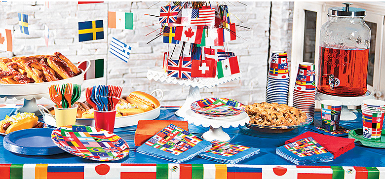 International Food Party Themes Unique Birthday Party Ideas And Themes