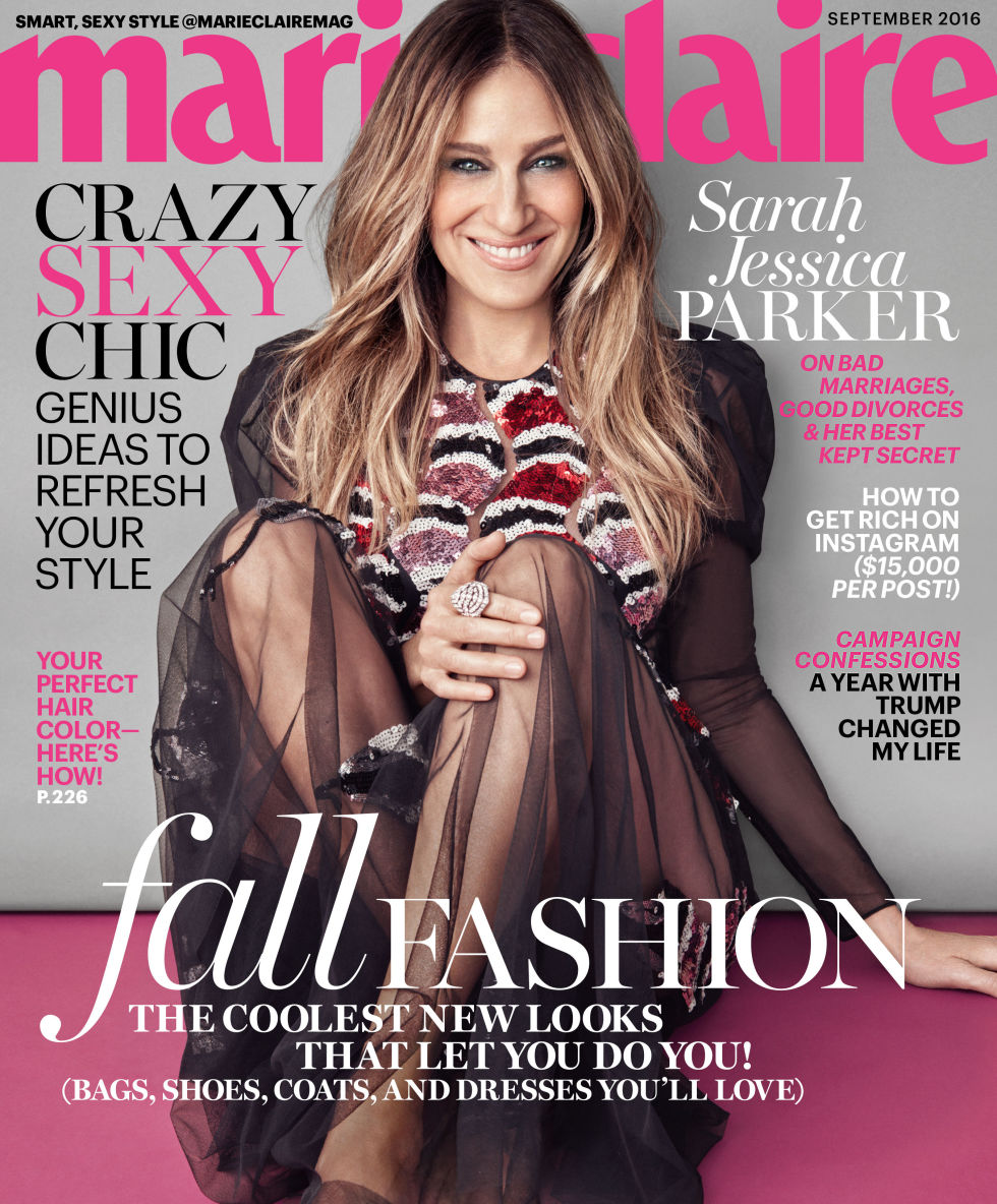SARAH JESSICA PARKER ON MARIE CLAIRE