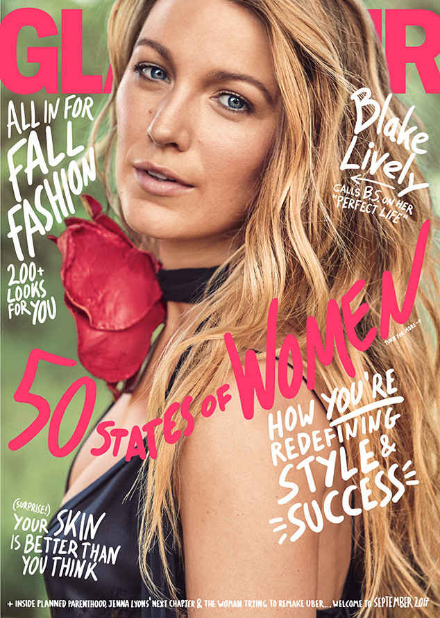 BLAKE LIVELY COVERS SEPTEMBER 2017 GLAMOUR