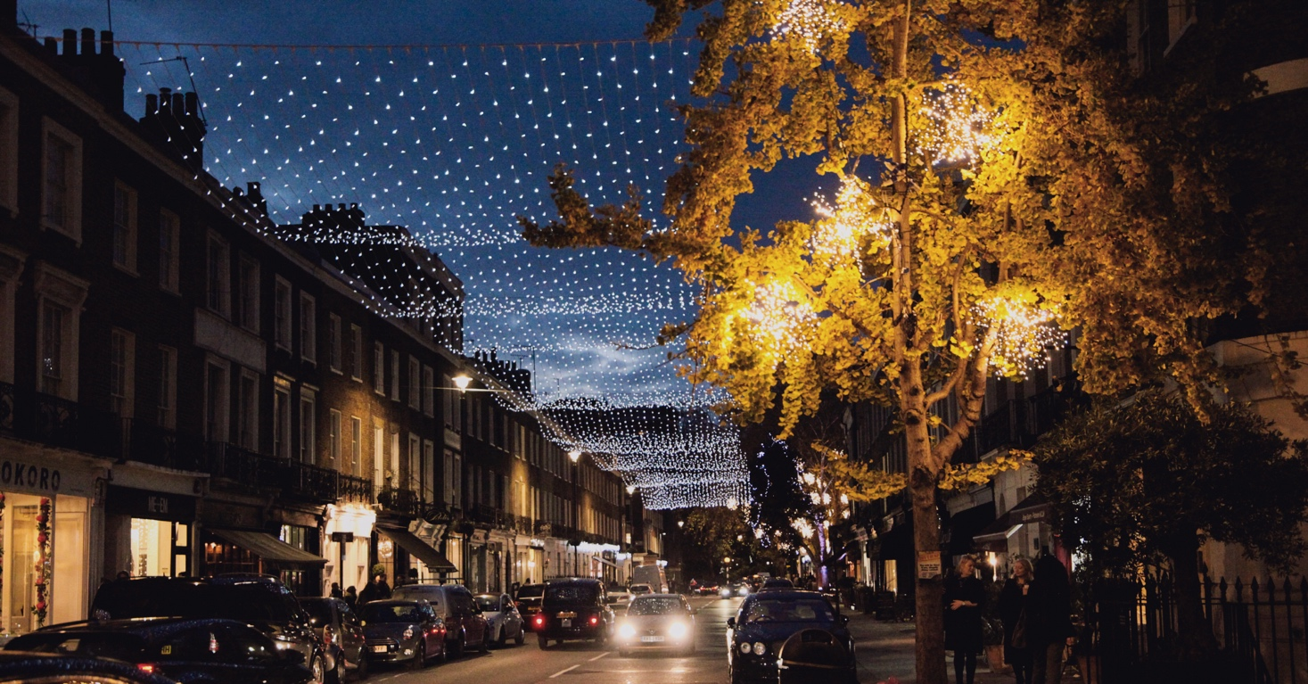 Christmas Shopping in Connaught Village