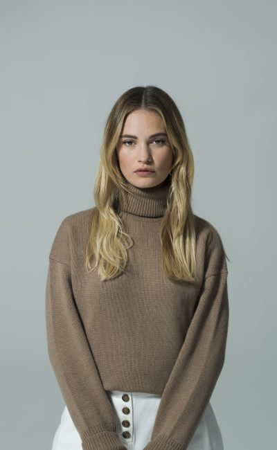 Lily James guests at The Testaments Live Event