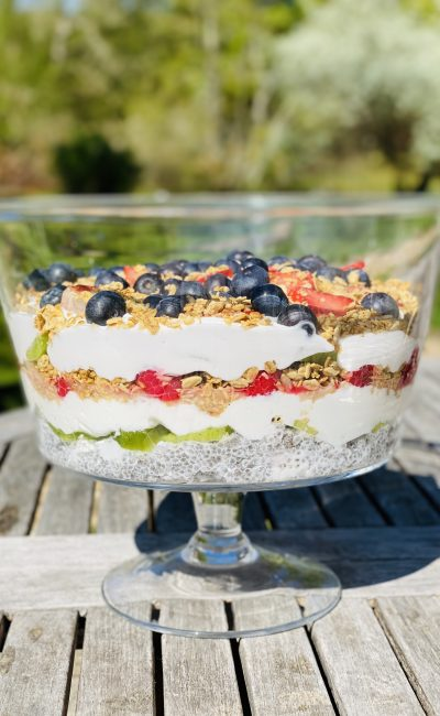 GUT FRIENDLY summer TRIFLE RECIPE