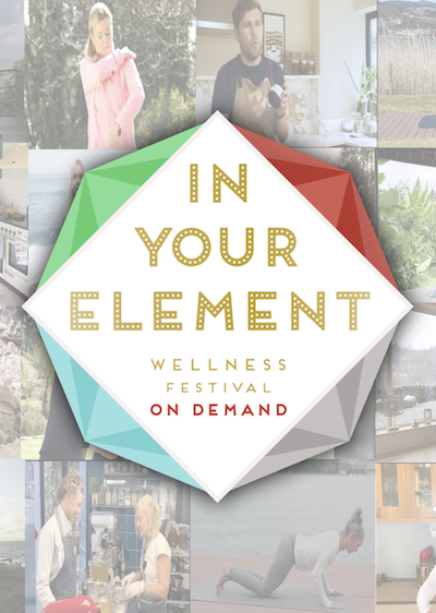 be in your element with a Free Wellness Weekender